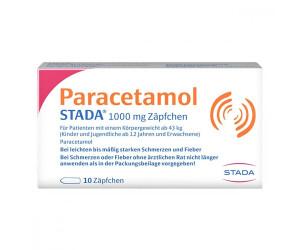 Paracetamol 1000 Erw.-Suppositorien (10 Stk.) ab 1,07