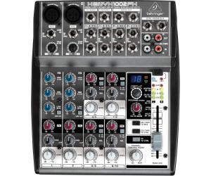 Behringer Xenyx 1002 mixer karaoke 10 canali
