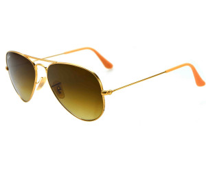 Buy Ray-Ban Aviator Metal RB3025 112 85 (matte gold gradient brown ... 36237a40194a