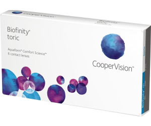 cooper vision biofinity toric 3 stk ab 13 13 preisvergleich bei. Black Bedroom Furniture Sets. Home Design Ideas