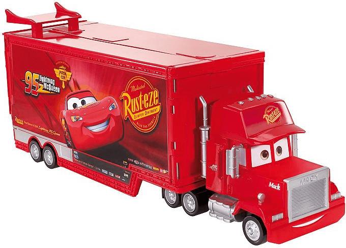 Mattel Disney Cars - Mega Truck Play World