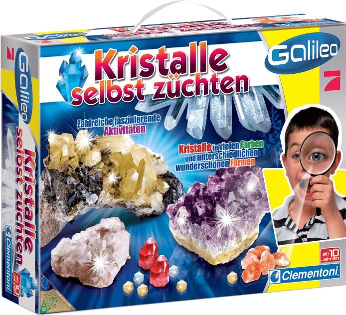 Clementoni Galileo - Kristalle selbst züchten (69247)