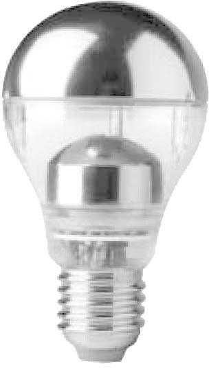 Megaman LED 7W E27 Warmweiß Kopfspiegel-Silber (21027) | Lampen > Leuchtmittel > Mehr-Leuchtmittel