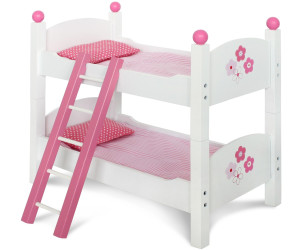 Puppenbett Etagenbett Holz : Gitterbett puppenbett puppen etagenbett mit leiter puppenbettzeug