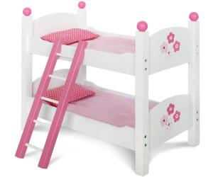 bayer chic fiori puppen etagenbett ab 34 68. Black Bedroom Furniture Sets. Home Design Ideas