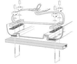 KAMEI Montagesatz für Dachboxen (05269610)
