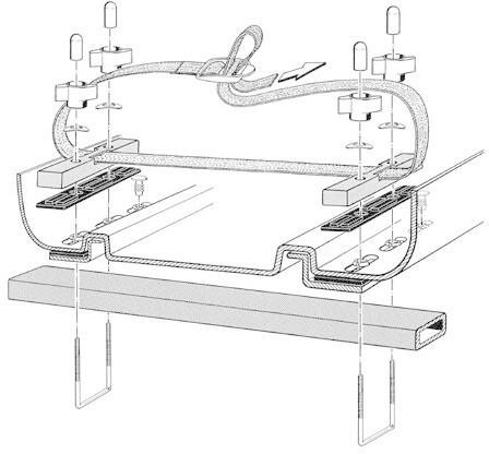KAMEI Montagesatz für Dachboxen (05269510)