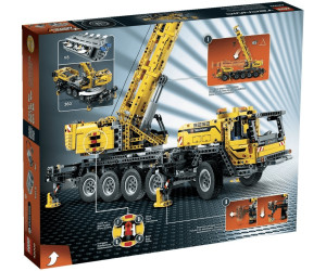 lego technic mobiler schwerlastkran 42009 ab 329 99. Black Bedroom Furniture Sets. Home Design Ideas