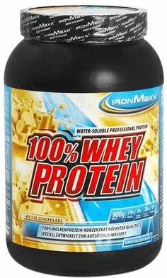 IronMaxx 100% Whey Protein Weiße Schokolade 900g