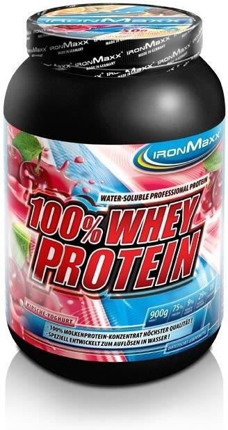IronMaxx 100% Whey Protein Banane-Joghurt 900g