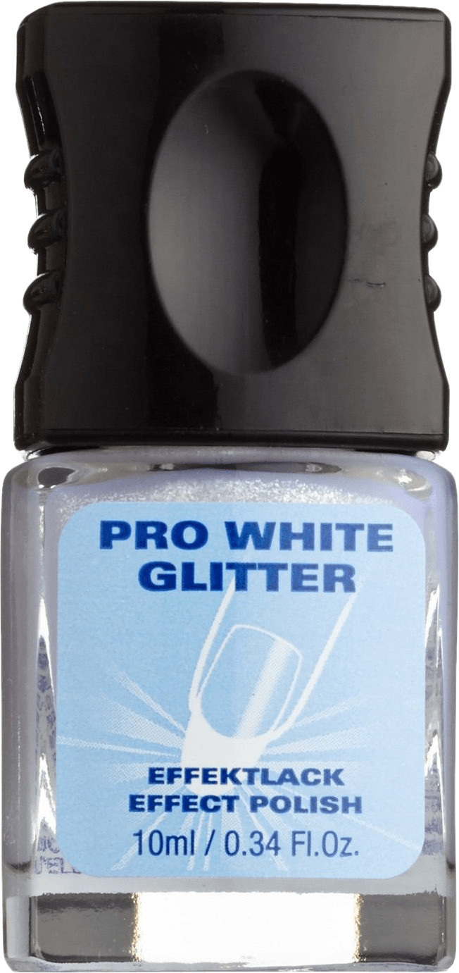 Alessandro Pro White Glitter (10 ml)