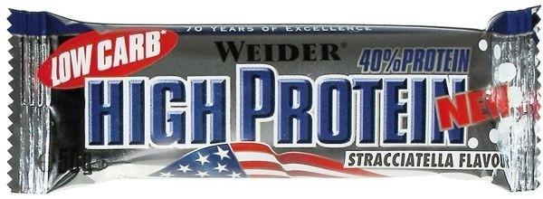 Weider 40% High Protein Bar Stracciatella 50g