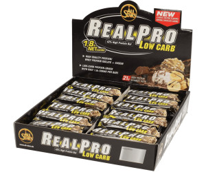 All Stars Real Pro Low Carb Peanut Box