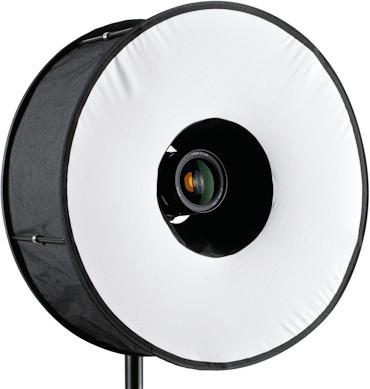 Roundflash Magnetic Black Ringblitz-Diffuser 45 cm