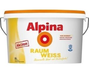 alpina raumweiss 8 l ab 24 99 preisvergleich bei. Black Bedroom Furniture Sets. Home Design Ideas