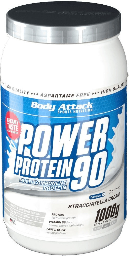 Body Attack Power Protein 90 Stracciatella 1000g