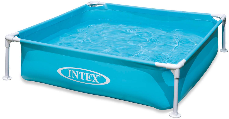 Intex Frame Kinderpool Mini Blau 122 x 122 x 30 cm