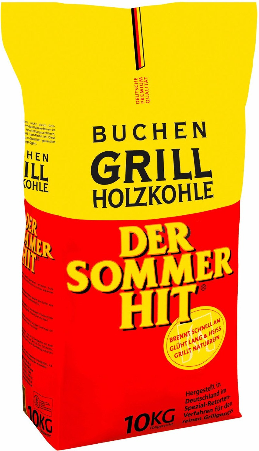 ProFagus Der Sommerhit Holzkohle 10kg