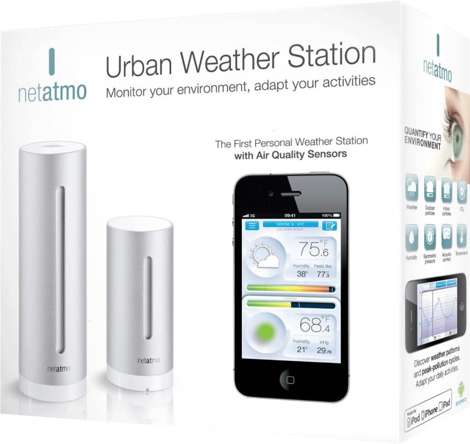 Netatmo Wetterstation für iPhone iPad und Android