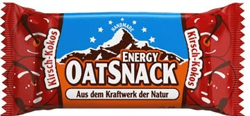 Oatsnack Energie Riegel Kirsch-Kokos 65g