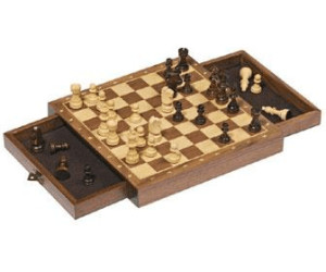 Goki Magnetic Chess Set with Drawers