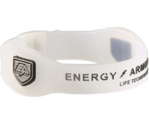 Energy Armor Energy Armband Silicone White