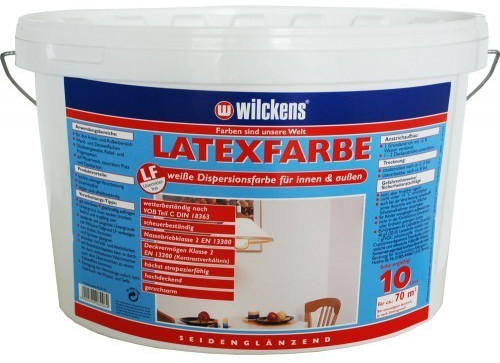 Wilckens Latexfarbe matt 10 l