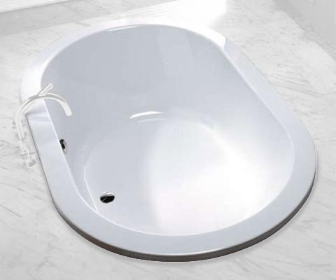Hoesch Scelta Ovale Badewanne 190 x 120 cm
