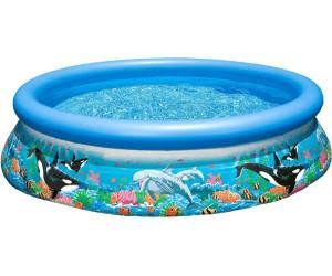 intex easy set pool ocean reef 305 x 76 cm ohne zubeh r ab 33 99 preisvergleich bei. Black Bedroom Furniture Sets. Home Design Ideas