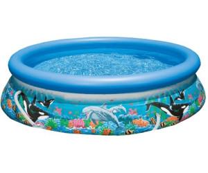 Intex easy set pool ocean reef 305 x 76 cm ab 34 99 for Intex pool preisvergleich