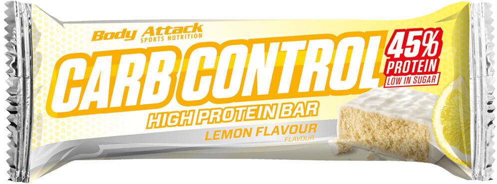 Body Attack Carb Control Proteinriegel 100g Lemon