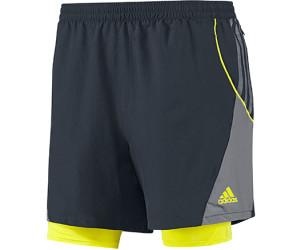 adidas 2 in 1 shorts herren