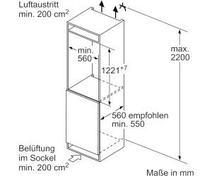 Siemens Kühlschrank 122 Cm : Siemens ki rad ab u ac preisvergleich bei idealo