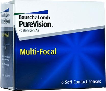 Bausch & Lomb PureVision Multifocal +1.00 (6 unità)
