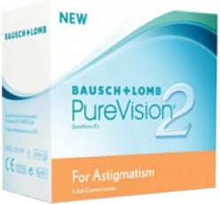 Bausch & Lomb PureVision 2 HD for Astigmatism 3.75 (6 unità)