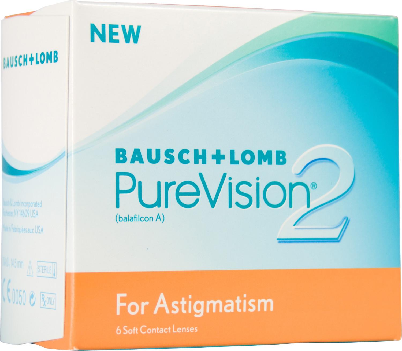 Bausch & Lomb PureVision 2 HD for Astigmatism +6.00 (6 unità)