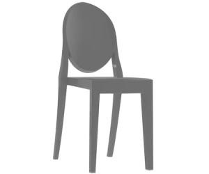 Kartell Victoria Ghost Stuhl schwarz glänzend (4857) ab ...