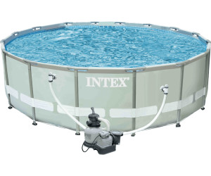 buy intex ultra frame pool 16 39 x 48 from compare prices on. Black Bedroom Furniture Sets. Home Design Ideas