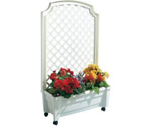 khw pflanzkasten mit spalier 79 x 135 cm wei ab 49 99 preisvergleich bei. Black Bedroom Furniture Sets. Home Design Ideas