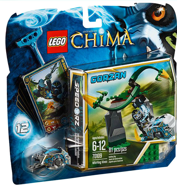 LEGO Legends of Chima - Schlingpflanze (70109)