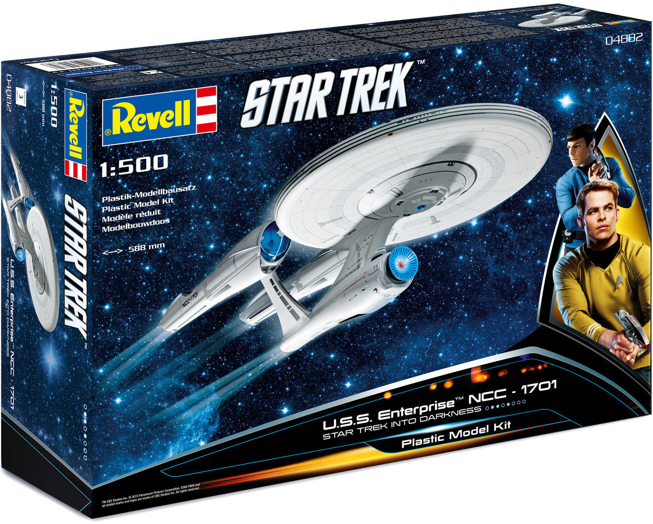 Revell U.S.S. Enterprise NCC-1701 Into Darkness (04882)