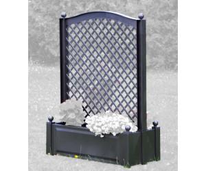 khw pflanzkasten mit spalier 100 x 140 cm anthrazit ab 68 95 preisvergleich bei. Black Bedroom Furniture Sets. Home Design Ideas