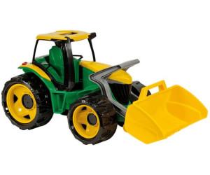 Lena starke riesen traktor mit frontlader ab