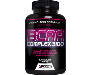 XCore Nutrition BCAA Complex 3100