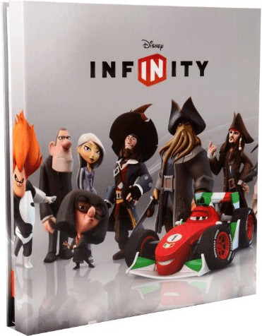 Disney Infinity Power Disc Album Wave1 20 power disc holder PDP Porta gettoni