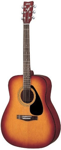 Yamaha F310P Tobacco Brown Sunburst