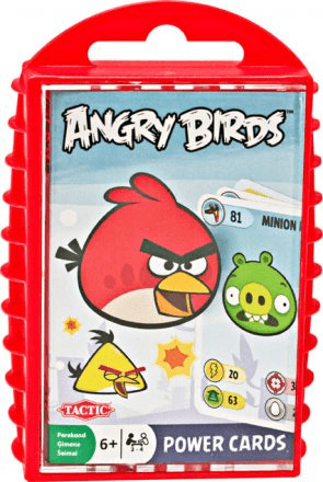 Tactic Angry Birds Power Cards