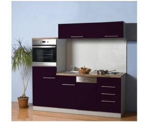 mebasa kleink che cucina compact 200 cm ab preisvergleich bei. Black Bedroom Furniture Sets. Home Design Ideas