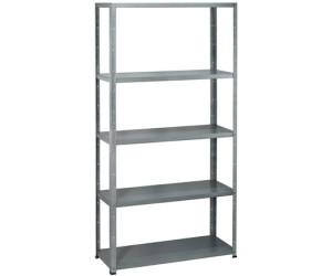 obi metall steckregal 195 x 100 x 40 cm ab 39 99. Black Bedroom Furniture Sets. Home Design Ideas