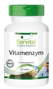 Fairvital Vitamenzym Tabletten (500 Stk.)